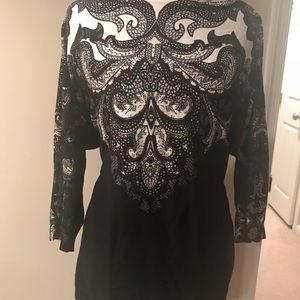 EUC White House Black Market XL Boatneck Sweater